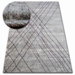Ковер SHADOW 9367 серый / лила