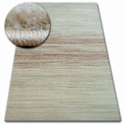 Kulatý koberec SHADOW 8622 rez / krémová