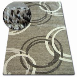 Carpet SHADOW 8645 dark beige / brown