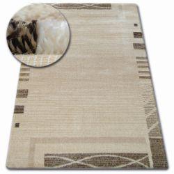 Kulatý koberec SHADOW 8597 krémová / světle béžová