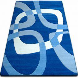 Teppich FOCUS - F242 blau QUADRAT Viereck