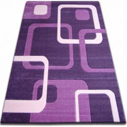 Carpet FOCUS - F240 dark violet SQUARES purple