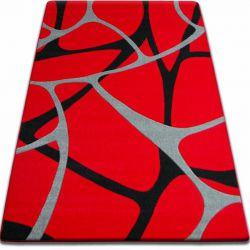 Koberec FOCUS - F241 červený pavučina síť