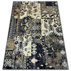 Teppich ZIEGLER 038 schwarz/Creme
