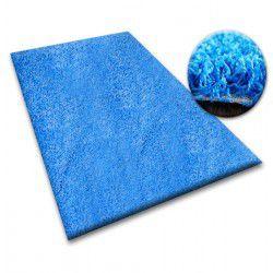 Tapis SHAGGY 5cm bleu