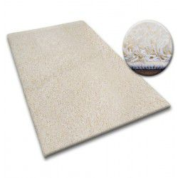 Shaggy szőnyegpadló 5cm krém