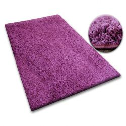 Carpet SHAGGY 5cm purple
