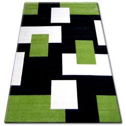 Koberec PILLY 7778 - černý/zelený