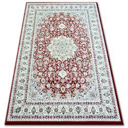 Carpet KLASIK 4179 d.red/d.cream