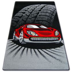 Teppich für Kinder HAPPY C271 schwarz Auto