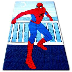 Koberec pro děti HAPPY C098 modrý Spiderman