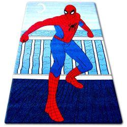 Teppich für Kinder HAPPY C098 blau Spiderman