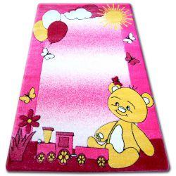 Alfombra infantil HAPPY C210 Osito rosa