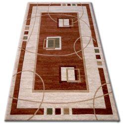 Carpet heat-set KIWI 3419 brown