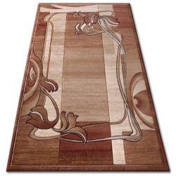 Килим heat-set KIWI 3763 коричневий