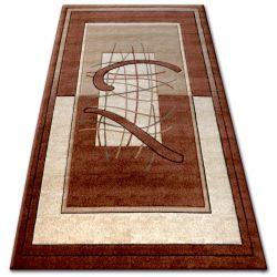 Килим heat-set KIWI 3420 коричневий