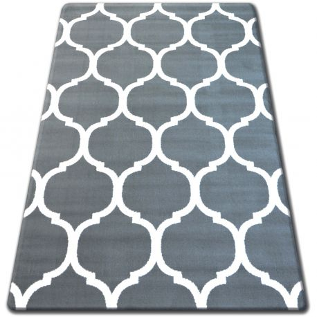 Bcf flash szőnyeg 33445/167 Lóhere Marokkói Trellis szürke