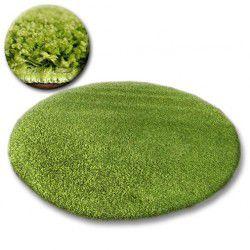 Tappeto cerchio SHAGGY GALAXY 9000 verde
