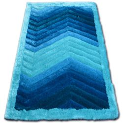Carpet SHAGGY SOFT - 3D TYC314 turquoise