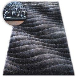 Carpet Shaggy SPACE 3D B222 dark grey