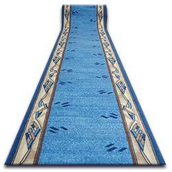 Csúszásgátló futó szőnyeg MODERN kék