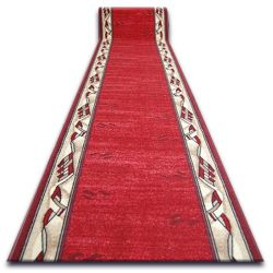Csúszásgátló futó szőnyeg MODERN bordó