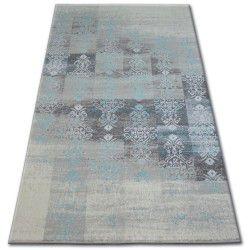 Килим AKRYL PATARA 0146 L.пісочний/алмазний зелений